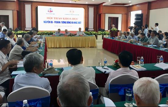 Hội thảo khoa học Nguyễn Du - Puskin: tương đồng và khác biệt