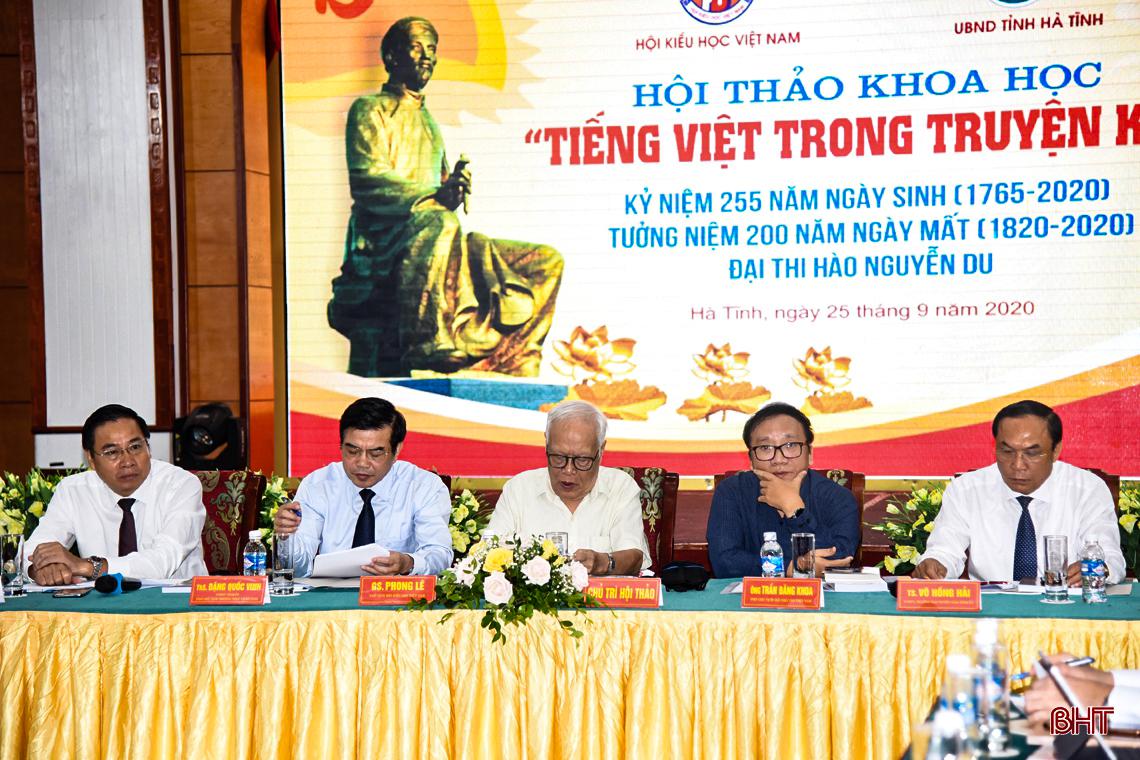 """Hội thảo khoa học """"Tiếng Việt trong Truyện Kiều"""""""